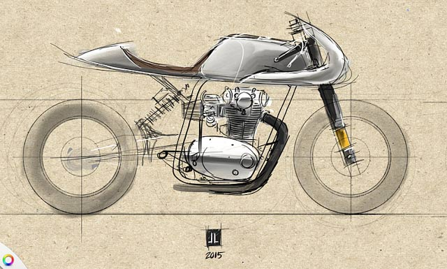 Cafe Racer Scrambler Brat The Differences And Suggest