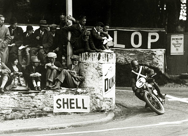 Isle of Man 1929 TT race classic vintage